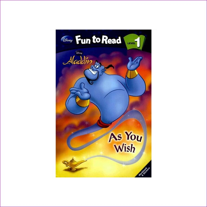 Disney Fun to Read 1-04  As You Wish (Aladdin)