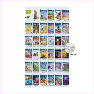 Disney Fun to Read 1단계 Full Set (전34권)