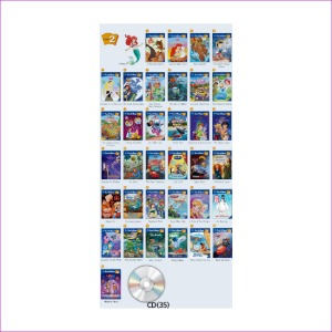 Disney Fun to Read 2단계 Full Set (전35권)